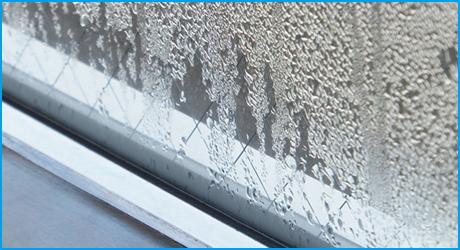 窓サッシから雨漏りがする