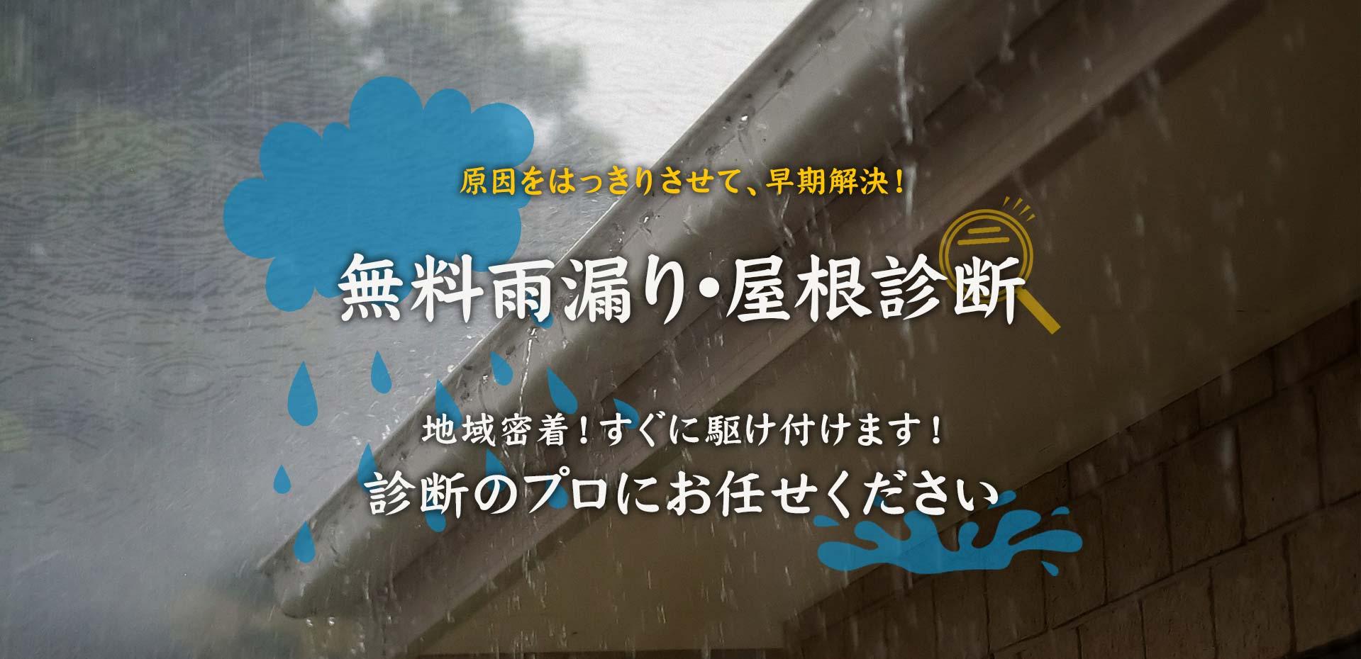 雨漏り・屋根診断