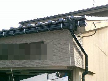 富山市 Ⅰ様邸 雨樋交換工事