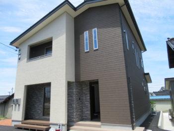 新築外壁工事 窯業系サイディング  H様邸